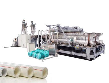 Línea de producción de tubos de plástico