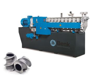 Máquina de extrusión de doble tornillo paralelo
