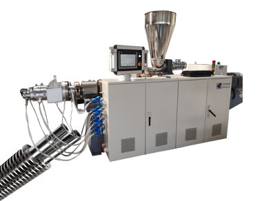 Conical Twin Screw Extrusion Machine