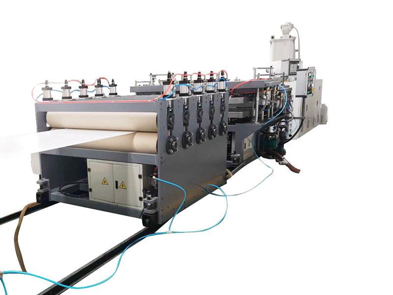 PP PC PE hollow sheet extrusion line - benkextruder