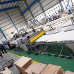 pp hollow sheet extrusion line