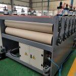 pp hollow sheet haul off machine