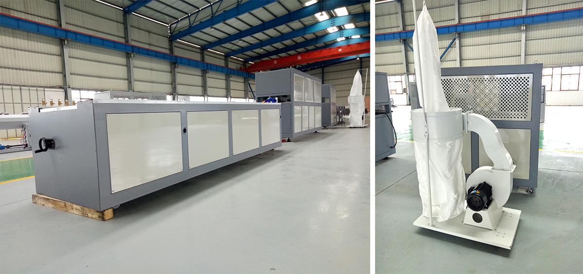 PVC/PE/PP/WPCwood plastic profile extrusion line 1