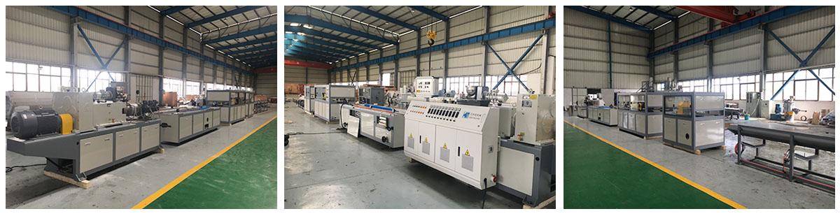 PVC/PE/PP/WPCwood plastic profile extrusion line 5