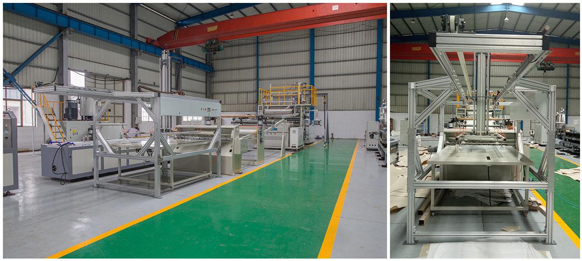 PVC WPC Imitation Marble Sheet Extrusion Line