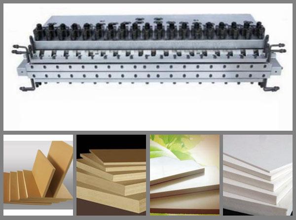 PVC WPC foam board extrusion line