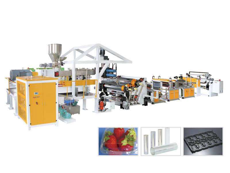 APET-PETG-CPET-PLA Sheet Product Line