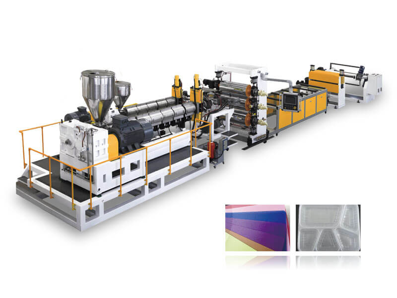 PP-PS Thermoforming Sheet Production Line