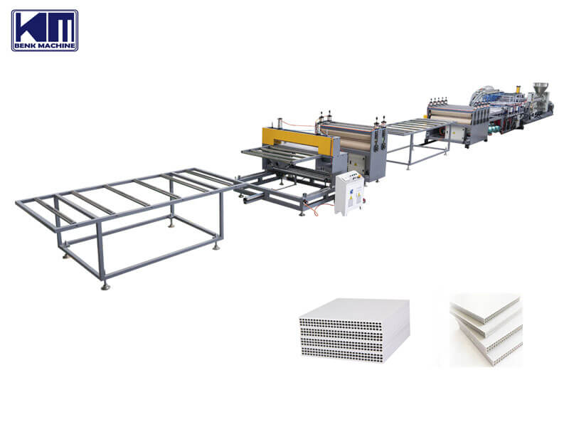 pp hollow construction formwork machinery