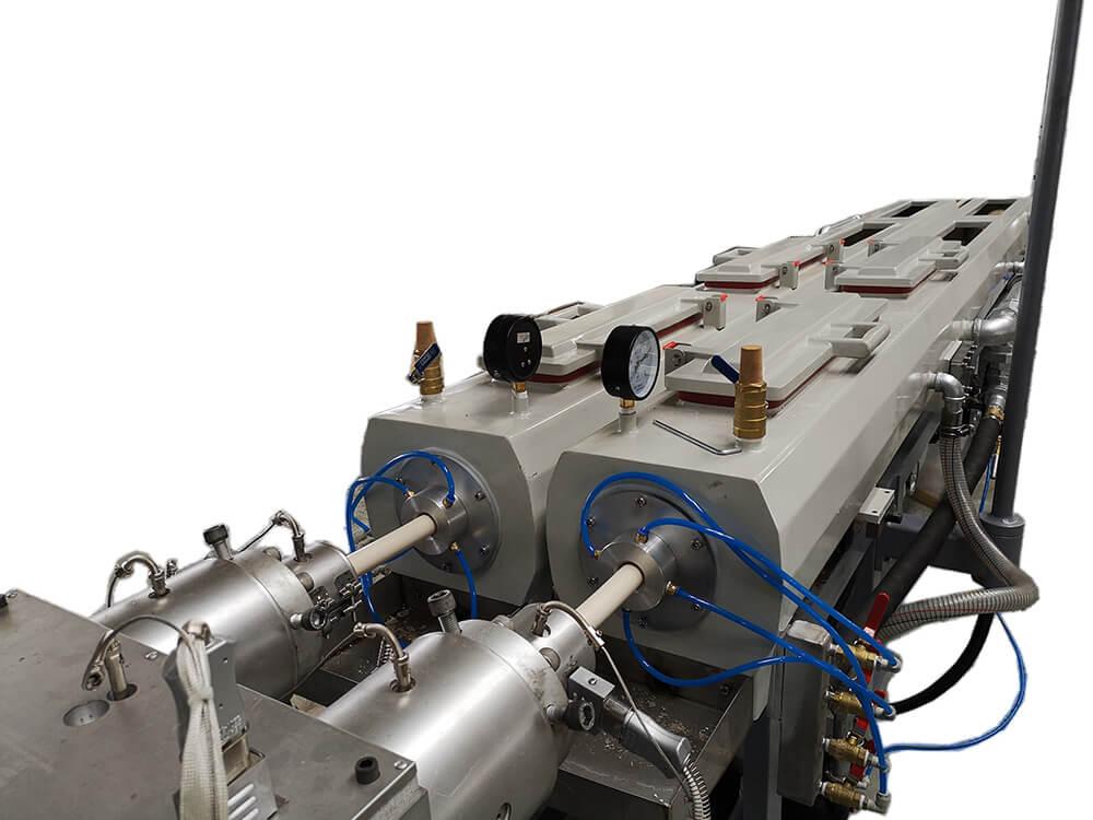 double pvc pipe vacuum tank