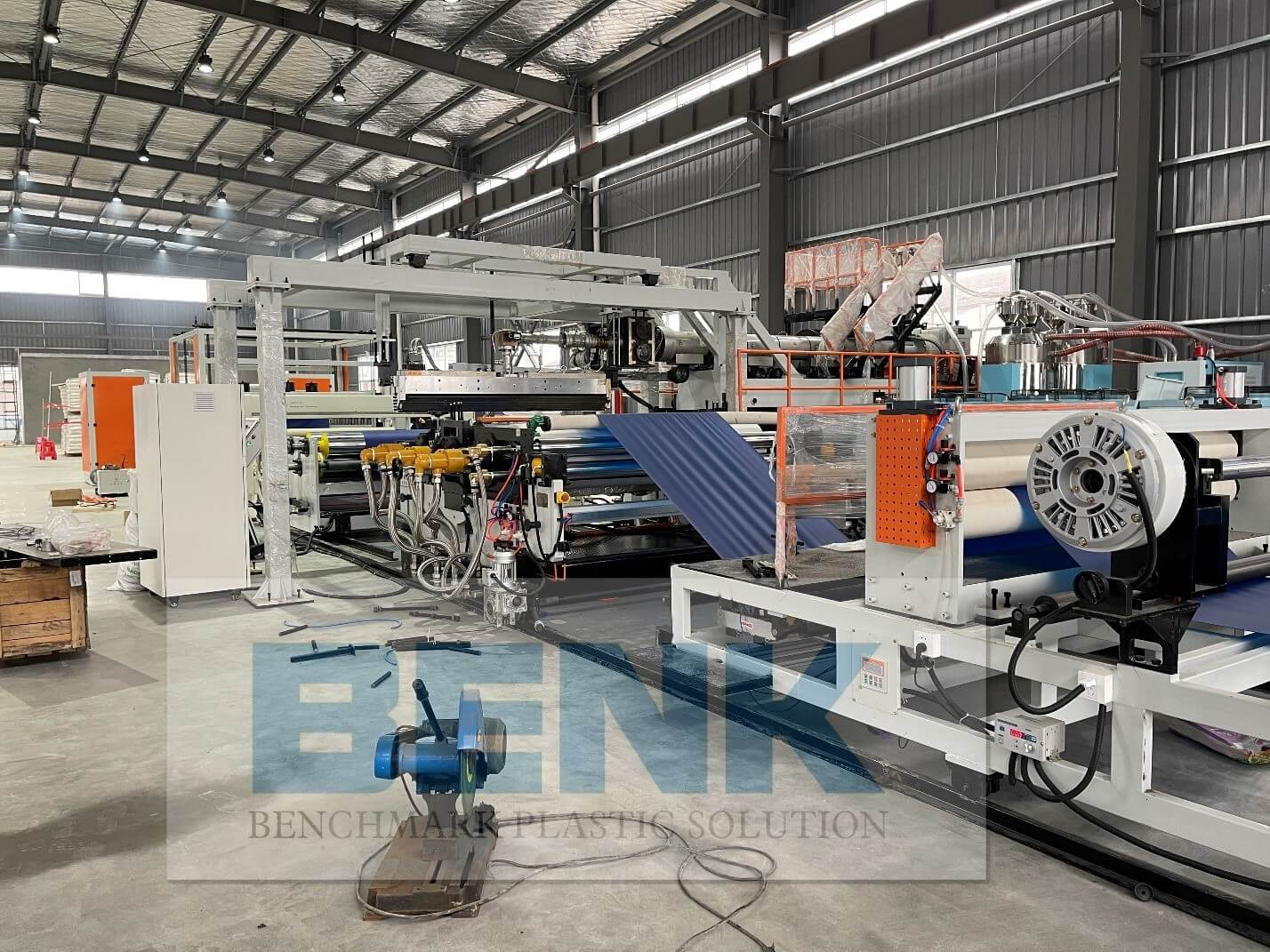 TPU SHEET PRODUCTION MACHINE