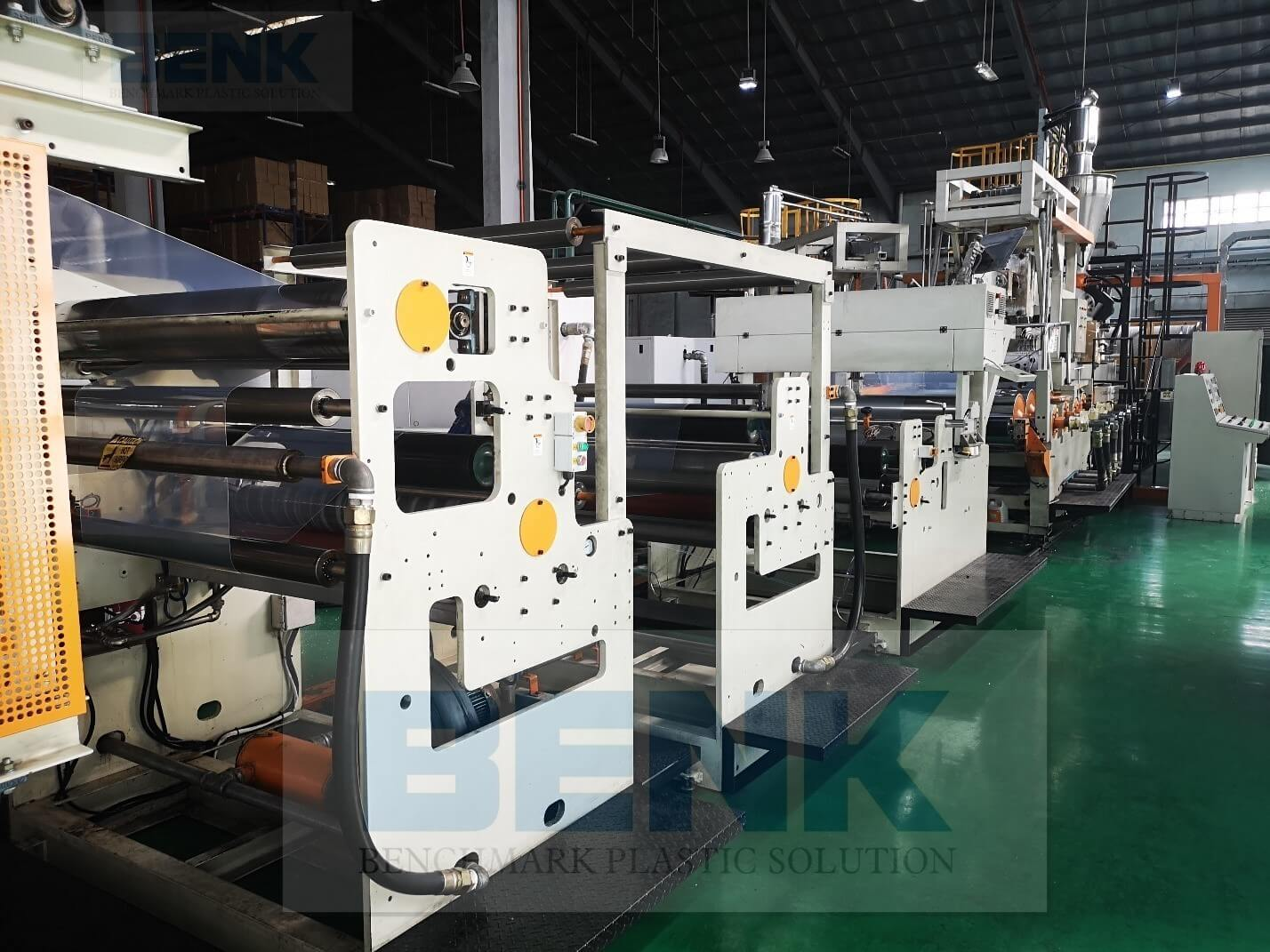 PET/PLA SHEET EXTRUSION PRODUCTION LINE