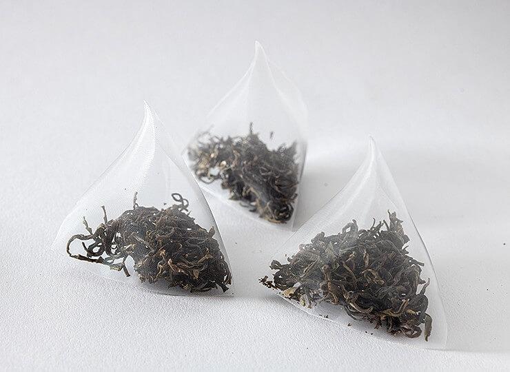 PLA tea bags