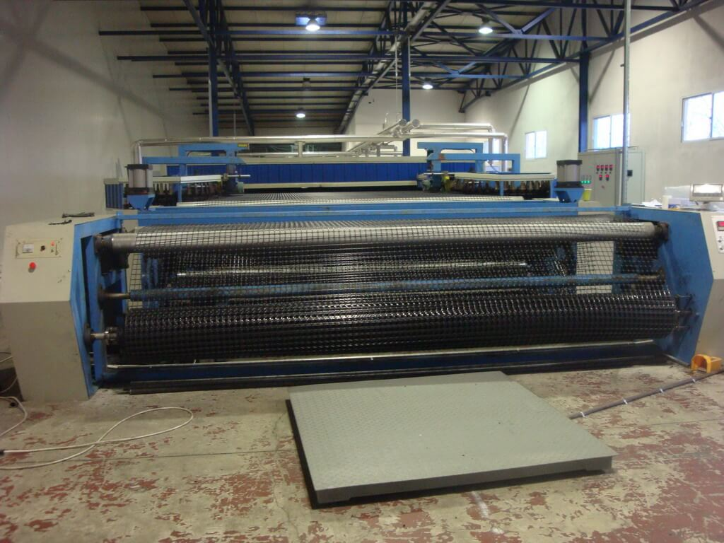 pp pe geogrid production line